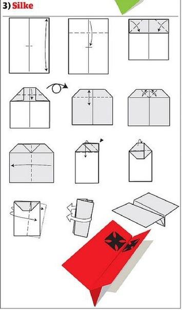 Сделать своими руками самолет бумаги
