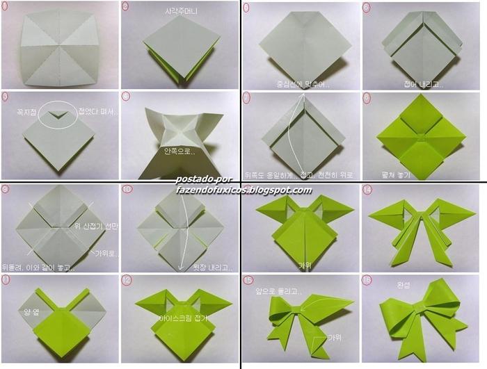 Поделки из бумаги фото схемы