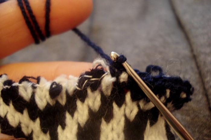 Как обвязать шарф 4