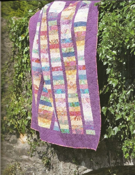 Pam Lintott, Nicky Lintott - Jelly Roll Quilts—Книга по пэчворку/квилтингу (Одеяла)(ENG)2008, jpg.