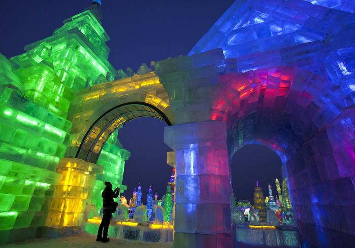 фестиваль льда фото