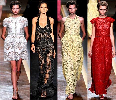Комментарий: Модные платья весна-лето 2012 с фото.