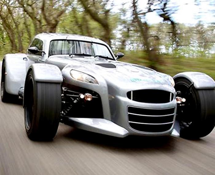 Минималистский спорт-кар Donkervoort D8 GTO