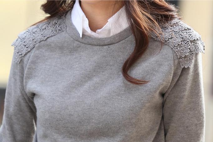 Как украсить старый свитер фото