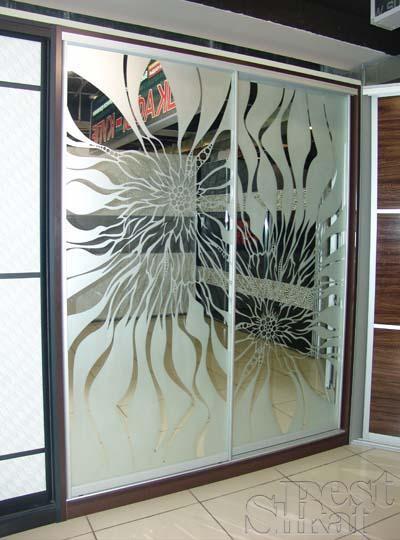 Красивые рисунки на шкафах купе - пескоструйный рисунок 18 (400x540, 40Kb)