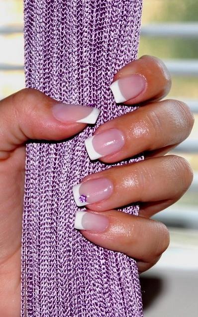Дизайн ногтей френч является сейчас