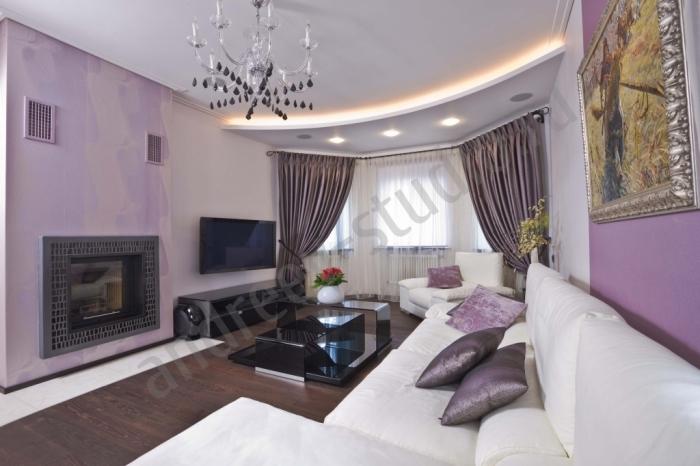 Дизайн комнаты. дизайн интерьера спальни гостиной фото.