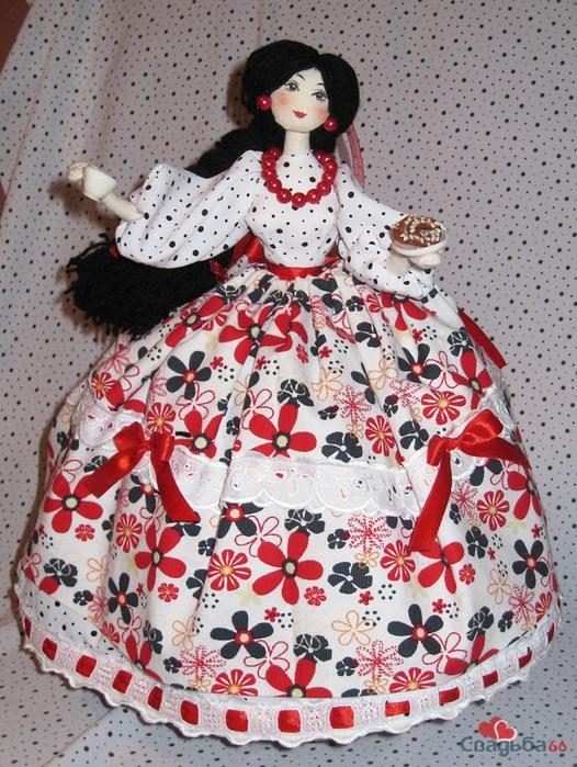 Грелка-кукла на чайник своими руками выкройка