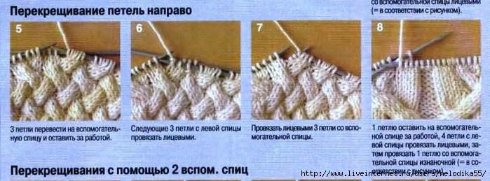 Вязание косы спицами мк 29