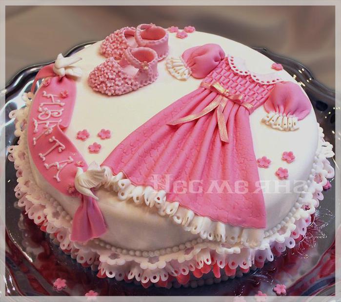 Образцы тортов для девочек