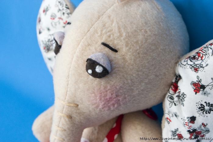 怎么做毛绒玩具的眼睛 (大师班) - maomao - 我随心动
