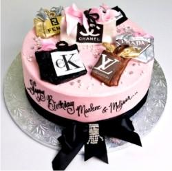 Дневник -Shkoda- :: Торт-сумочка. я с еще одним тортиком.