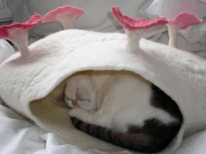 Гамак для кошек сделать