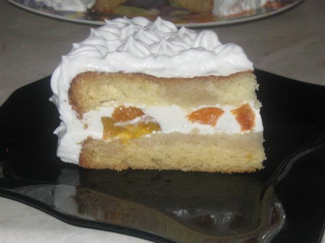 Торт со сметанным кремом и желатином рецепты