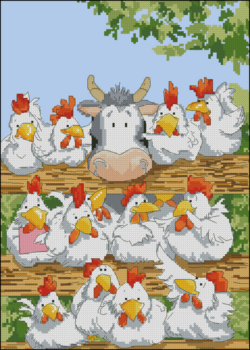Country chorus2 (500x700, 397Kb)