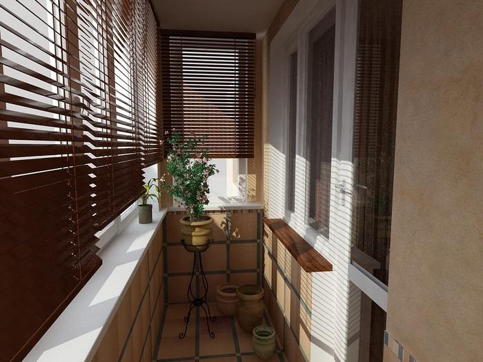 """Дизайн балкона Дизайн-студия """"Магия Интерьера"""""""