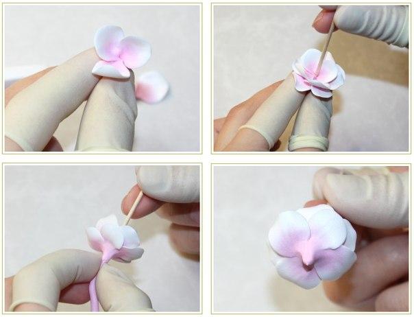 Как сделать сакуру из ткани