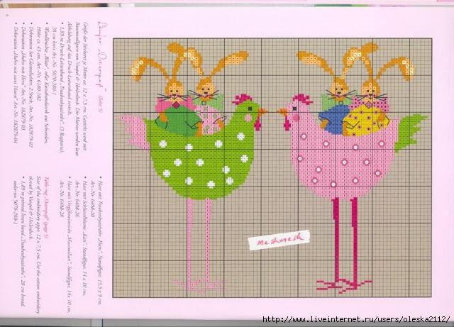 пасхальные курочки (640x461