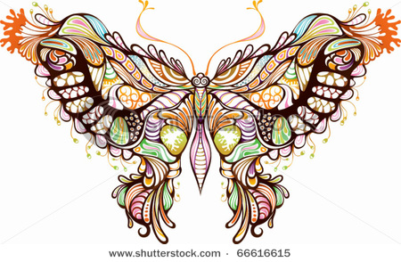 stock-vector-abstract-animal-butterfly-66616615 (450x294, 87Kb)
