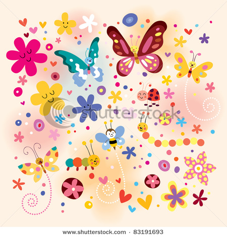 stock-vector-butterflies-beetles-flowers-83191693 (450x470, 107Kb)