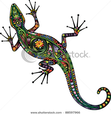 stock-vector-lizard-88597966 (450x467, 75Kb)
