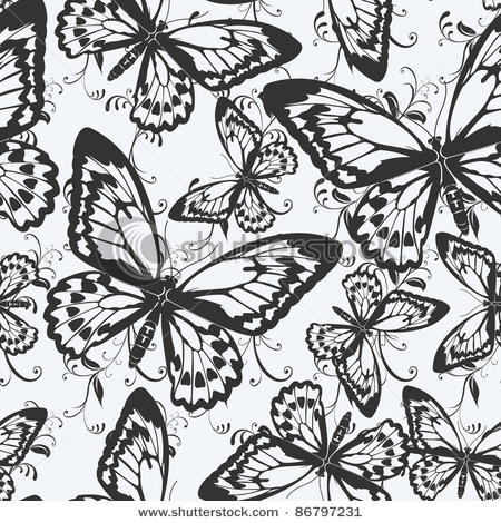 stock-vector-seamless-pattern-with-butterflies-86797231 (450x470, 125Kb)