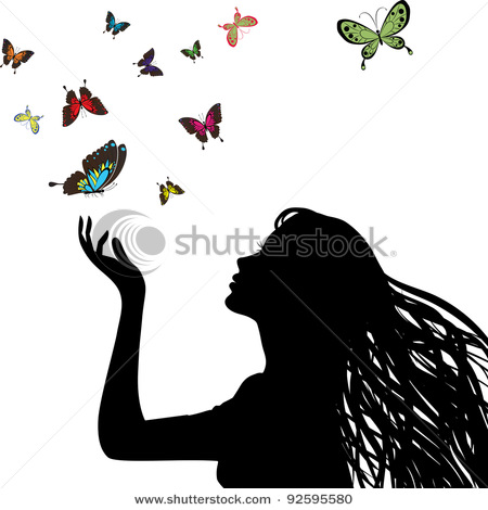 stock-vector-sexy-vector-woman-silhouette-hand-profile-pretty-girl-hair-head-drawing-butterfly-female-face-92595580 (450x470, 46Kb)