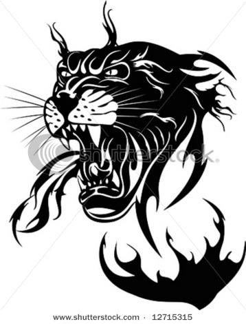 stock-vector-the-black-panther-on-a-white-background-vector-illustration-12715315 (358x470, 45Kb)