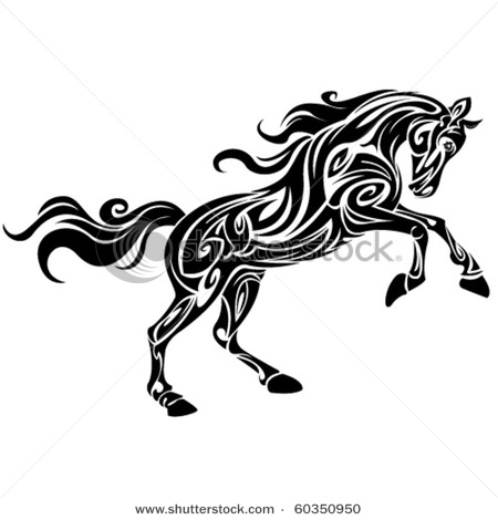 stock-vector-tribal-horse-by-roberto-ojeda-60350950 (450x470, 37Kb)