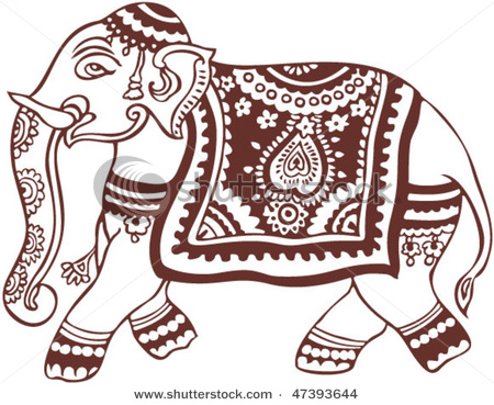 stock-vector-vector-oriental-elephant-design-47393644 (450x369, 84Kb)