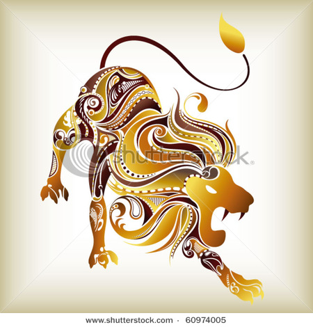 stock-vector-zodiac-leo-60974005 (450x470, 80Kb)