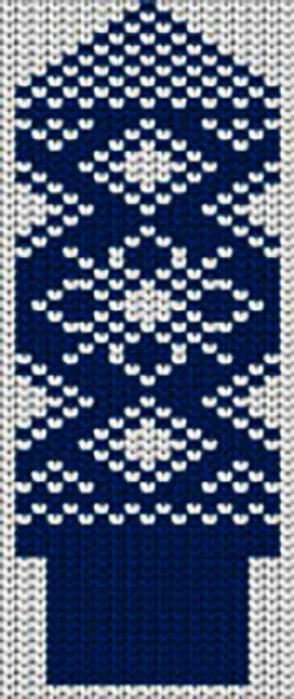 Схемы для вязания варежек с