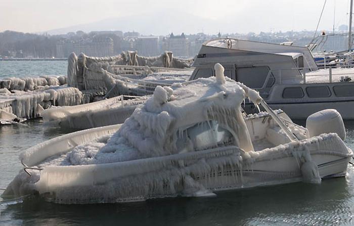 ледяные скульптуры фото