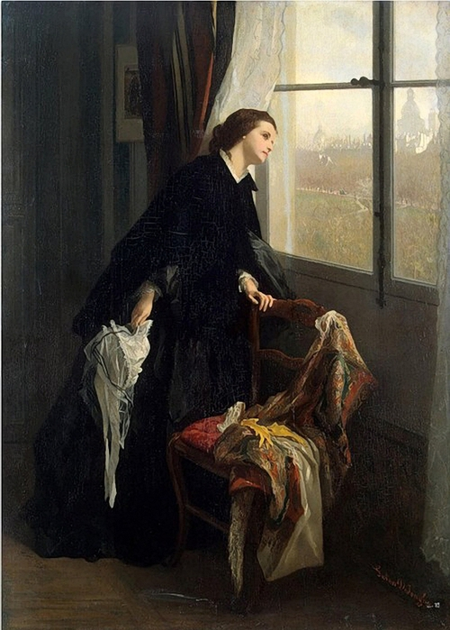 Changeable Weather, Leonard Campbell Taylor. (1874-1969). (500x700, 244Kb)