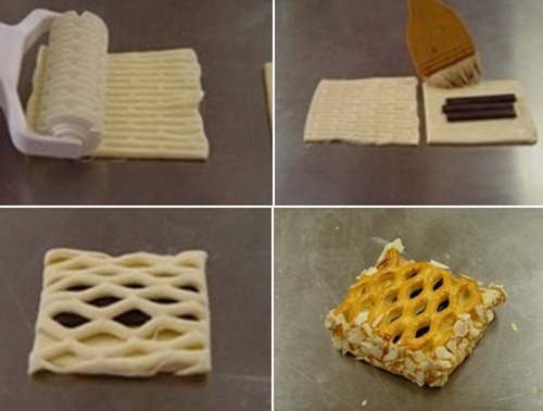 Как сделать слойки из слоёного теста с вареньем