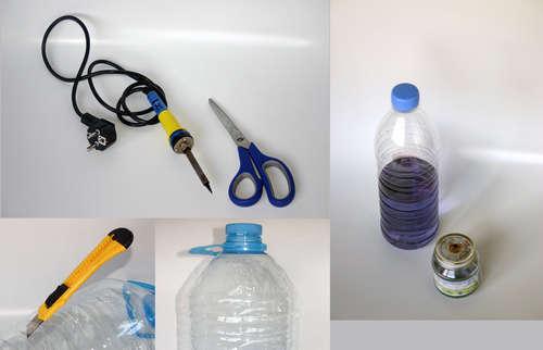 Шнур из пластиковых бутылок