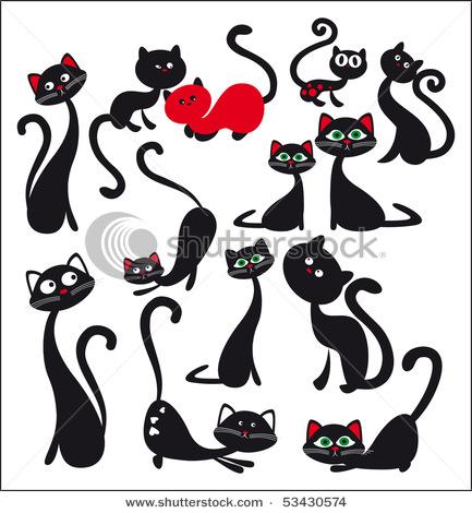 Трафареты для стен своими руками кошки - Uinzone.ru