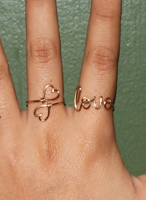Кольцо проволоки своими руками фото