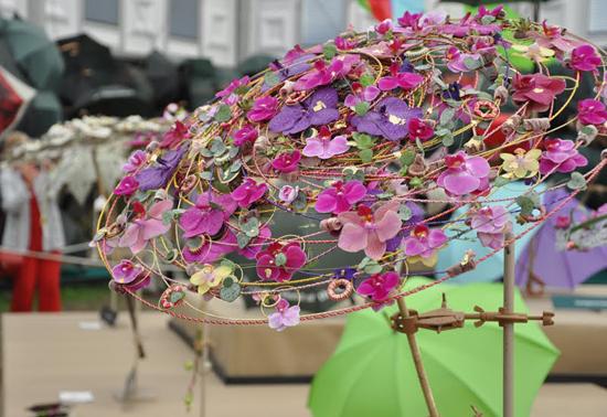 Цветы зонтики своими руками