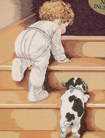 Рхема вышивки Малыш по