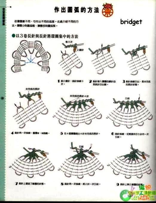 Вязание крючком для начинающих брюггское кружево