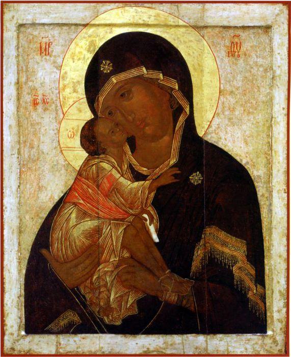 1Донская икона Божией Матери. (571x700, 90Kb)
