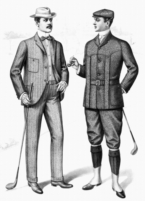 Мужская Мода Начала 20 Века