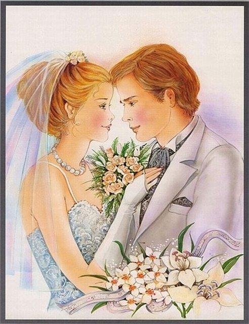 свадебные рисунки: