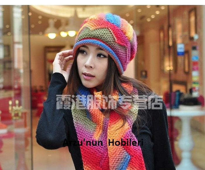 2012帽子和围巾 - maomao - 我随心动