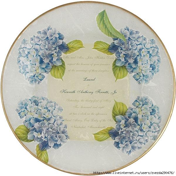 hydrangea-wedding-plate (600x600, 234Kb)