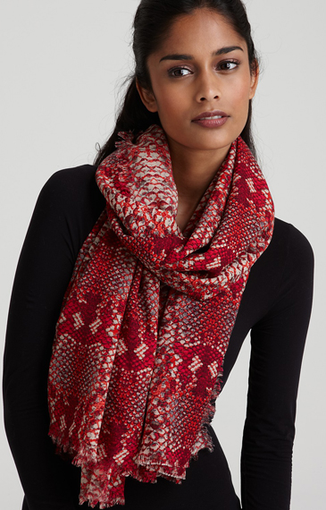 Marc by Marc Jacobs Python Print Scarf (365x570, 209Kb)