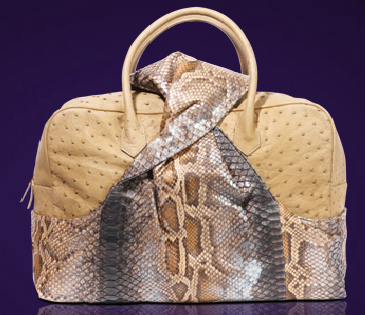 Analeena Papillion Day Ostrich and Python bag (365x315, 146Kb)