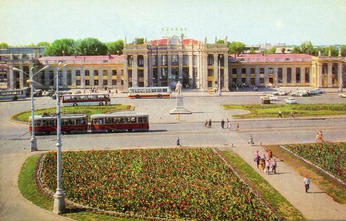 Врн 1973 вокзал Воронеж-1 (700x447, 146Kb)