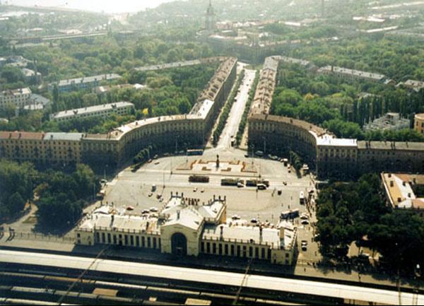 Врн 1990-е Вокзал Воронеж-1 (600x433, 81Kb)
